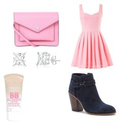 pinkylish by nevaeh678 on Polyvore featuring beauty, Maybelline, Marc by Marc Jacobs and Sole Society
