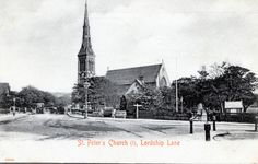 DULWICH. St PETERS CHURCH. LORDSHIP LANE. 1908. | eBay