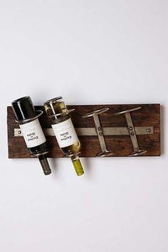 Anthropologie - Reclaimed Wine Rack, Where would you hang this? http://keep.com/anthropologie-reclaimed-wine-rack-by-tayloredmo/k/1v2ULZABK_/