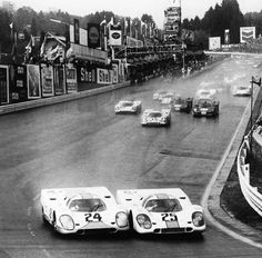 Eau Rouge - Pedro Rodriguez and ...?, that will be big Joe Siffert , they always did this