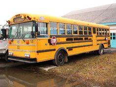School-bus Camper conversion: before