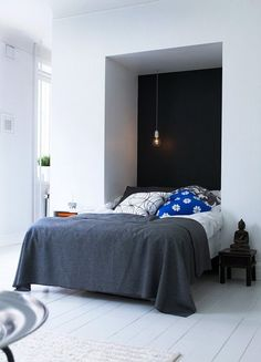 The Epitome of Tranquility: Bare-Walled Bedrooms   Apartment Therapy