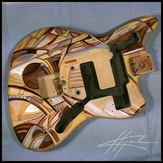#Fender #Customized #CustomFender  #FenderFrance #ParisArtShow #Music #guitar #grateful #gratitude @NickChaboya www.Nickchaboya.com