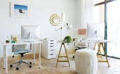 Tour the Sophisticated (But Still Fun) Office of BLND PR