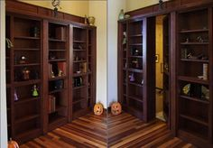 <b>Q: Why would anyone want to keep such beautiful spaces a secret?</b> A: Because secret rooms are awwwweeesooome.