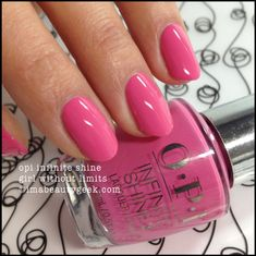 OPI Infinite Shine Girl Without Limits