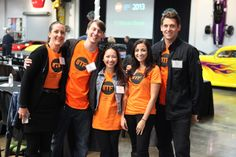 Rhythm Interactive staff looking stellar at the #2013IMF event.