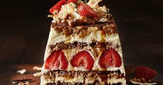 Strawberry tiramisu with a hidden fruity twist! This dessert is one you won't want to miss.