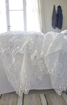 Beautiful lace...  Lovely to look at, would take a year of my full time to finish.