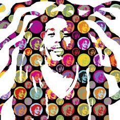 STIR IT UP | BOB MARLEY | LOBO | POP ART lobopopart.com.br
