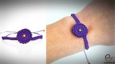 DIY/TUTORIAL Spiral Macrame Bracelet