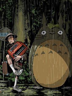 Hunter S. Thompson & Totoro