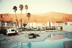 Ace Hotel, Palm Springs. | Mid-Century Modern + Desert + Palm Springs = Timeless  #style #nature #fun