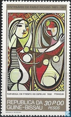 Postage Stamps - Guinea-Bissau - Picasso