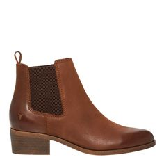 RAVEE TAN LEATHER BOOT | WOMENS BOOTS | Windsor Smith