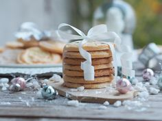 Smooth and cooking : Jedlé dárky Christmas Sweets, Xmas, Muffins, Place Card Holders, Candy, Cheese, Cookies, Baking, Smooth