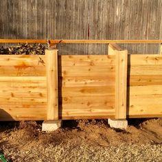 The Best Triple Compost Bin : 5 Steps (with Pictures) - Instructables Build Compost Bin, Homemade Compost Bin, Wooden Compost Bin, Best Compost Bin, Composting Bins, Vegetable Garden Design, Vegetable Gardening, Kitchen Waste, Garbage Can