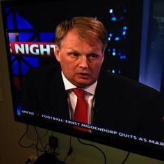 A brief appearance on the 6 o'clock news