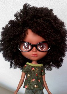 she's not a black blythe...but don't tell her that by mestisa, via Flickr