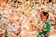 """Great confetti via MiamiOpen: To the victor go the spoils.  Congratulations, Roger Federer!  Roger Federer, 35,  will limit clay season after beating Rafael Nadal  Roger Federer says he """"probably"""" will not play again until the French Open, despite winning the Miami Open - his third title of 2017.  bbc.co.uk"""