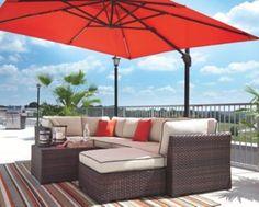 Oakengrove Patio Umbrella by Ashley HomeStore, Orange