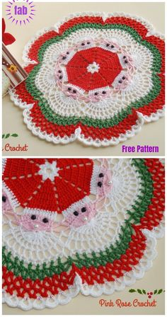 Free Patterns | Christmas | Pinterest | Croché, Navidad and Ganchillo