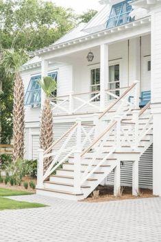 Beach House Tour, Beach House Style, Beach House Colors, Beach House Decor, Beach House Exteriors, Beach Chic Decor, Beach House Plans, Young House Love, Coastal Cottage