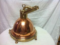 Rare Vintage Marine Brass Spot Light  it is $325 +125 $ Shipping