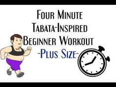 #17 Tabata-Inspired Beginner Workout / Plus Size Workout / Weight Loss Vlog - YouTube