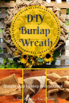 This is beautiful! I think I will make one using orange hued sunflowers for the fall!