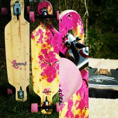 """Riviera Cherry Blossom 38"""" longboard"""