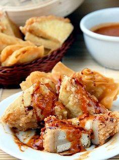 Resep Batagor Saus Kacang dan cara membuat | BacaResepDulu.com