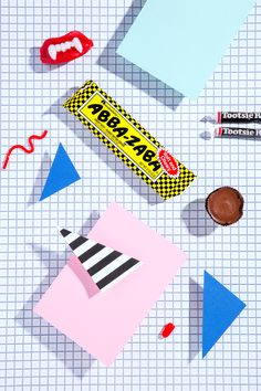 80's style Halloween candy for NYLON by Stephanie Gonot.