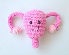 Uterus Plush, Uterus Soft Toy, Uterus Stuffed Toy, Uterus Plushie, Ovaries Plush, Hysterectomy Gift, Endometriosis Gift