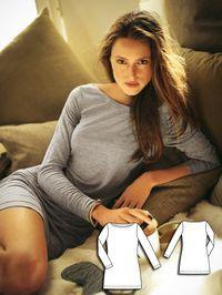 Knit Tunic 01/2011 #123B http://www.burdastyle.com/pattern_store/patterns/knit-tunic-012011?utm_source=burdastyle.com&utm_medium=referral&utm_campaign=bs-tta-bl-160401-LazyDayCollection123B