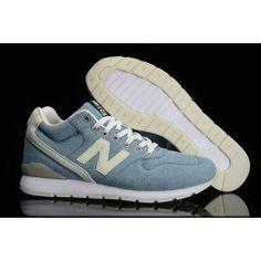 a929ea04e1c5 New Balance 996 MID Noctilucent Lysblå Beige Hvid Unisex