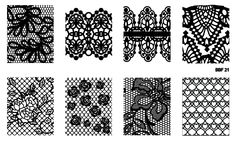 BBF Nail Stamping plate  Made in Brazil  Please NOTE: Some images might be slightly different from picture.  ---  Handling time - 8 business days Shipping time - from 15 to 20 days. Please keep in mind it's an international order ;)