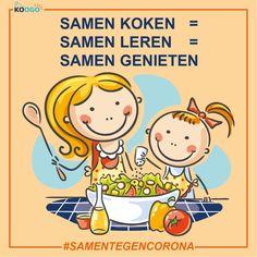 Samen koken = Samen leren = Samen genieten Peanuts Comics, Jokes