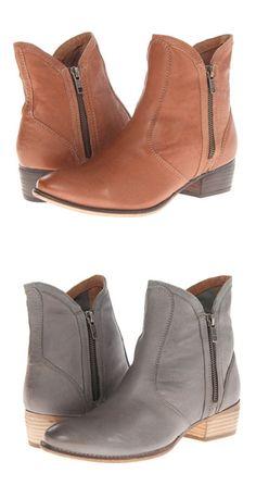 Zipper booties by Seychelles BROWN