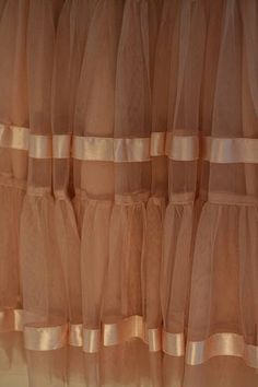 How to Make a Tiered Tulle Skirt