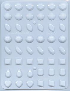 Gems assortment  large Hard Candy Mold 3 Count -- Visit the affiliate link Amazon.com on image for more details.