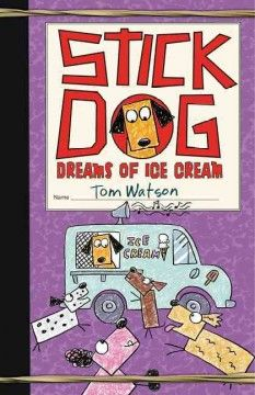 Stick Dog and his pals are back, but this time the temperature is rising and they're all feeling the heat. They need cold, cold ice cream on this hot, hot day. It will take all of Stick Dog's smarts to guide his friends to a scrumptious ice cream feast. They'll battle a water-attacking machine, discover rainbow puddles, and chase the strangest, loudest truck they've ever seen. But there's a looming threat to their mission—Stick Dog gets spotted by a human.