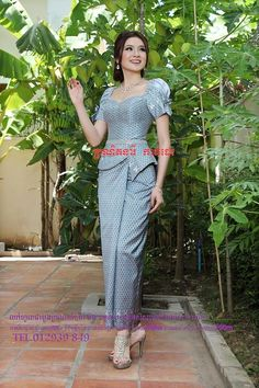 Beautiful khmer dress