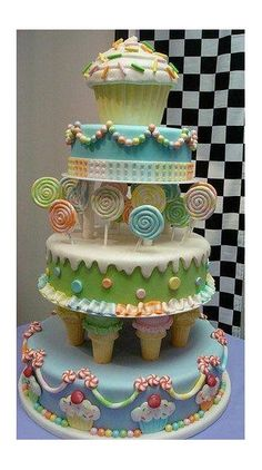 this would be perfect for Celli's candy land bday party!!