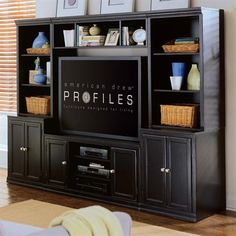 American Drew Camden-Dark Entertainment Center