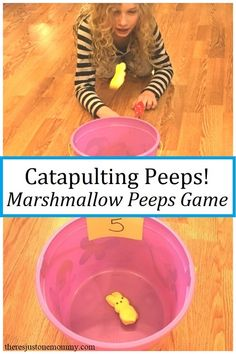 fun marshmallow peeps activity for kids #STEM #homeschoolingideas #Easter