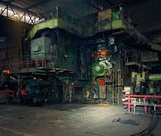 Steel mills, severed heads: the wired world of Thomas Struth – in pictures