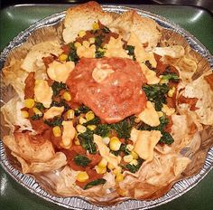 """Refried"" beans in the Instant Pot + Vegan Nachos"