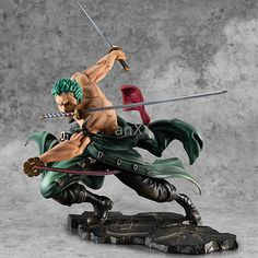 One Piece ZORO With Red Suit PVC Figure Gift New No Box