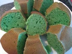 Green Bundt Cake